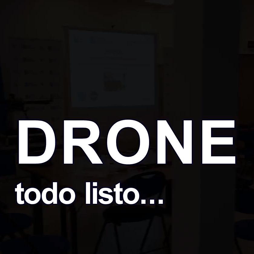 «Profe, ¿para qué sirve un dron?» Roas, Lugo todo listo!!!