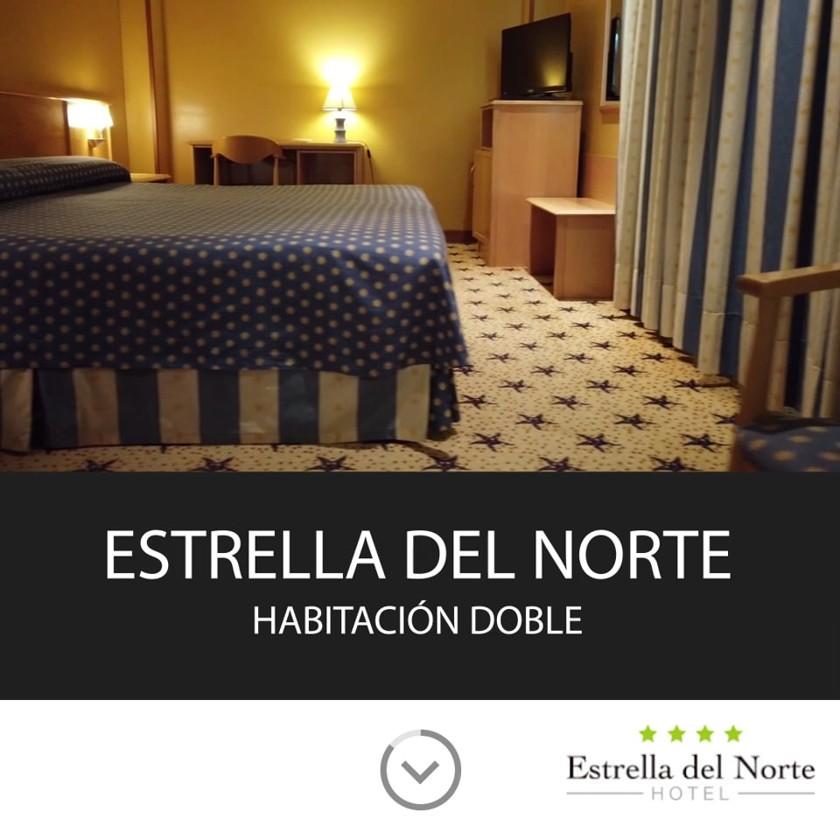 Una habitación del Hotel Estrella del Norte de Isla en formato cuadrado para redes sociales